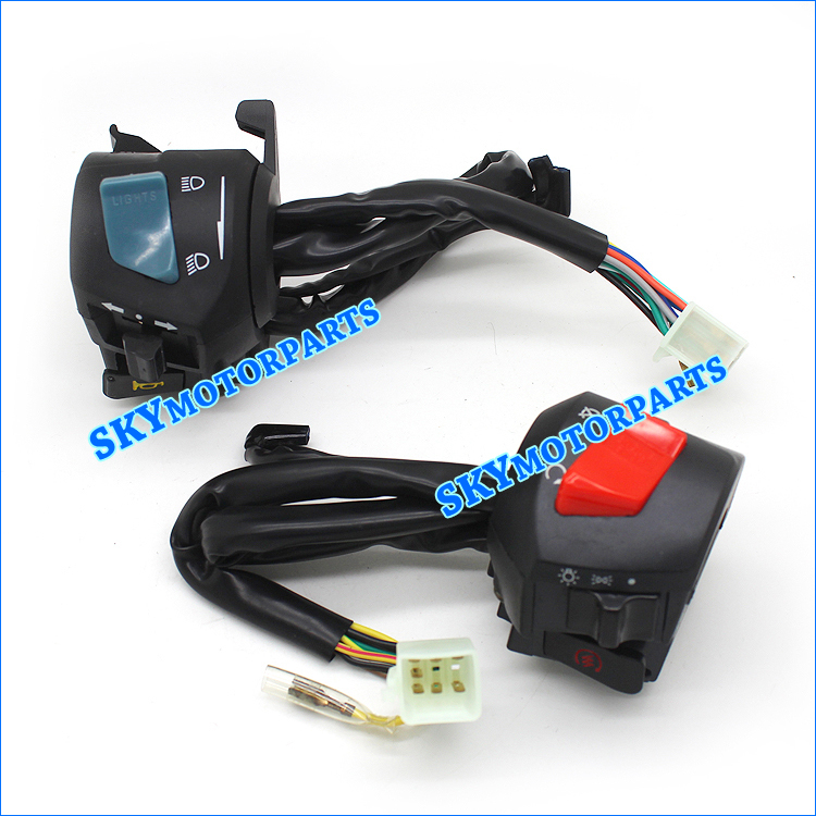 Brand new Scooter Handle Switch Turn Signal Control&Horn Control For HONDA CB400 92-98 1992 1993 1994 1995 1996 1997 1998(China (Mainland))