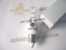 24V50W E11 mini candelabra halogen lamp,JD 24V 50W shadowless operation room surgical lights ceramic base bulb(China (Mainland))