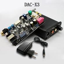 FEIXIANG FX-AUDIO DAC-X3 Fiber Coaxial USB Decoder 24BIT/192Khz USB DAC Headphone 192khz Decoder audio amplifiers