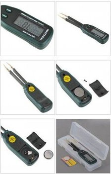 Free shipping, 3000 counts LCD Smart SMD Tester Mastech MS8910,buy two get three!