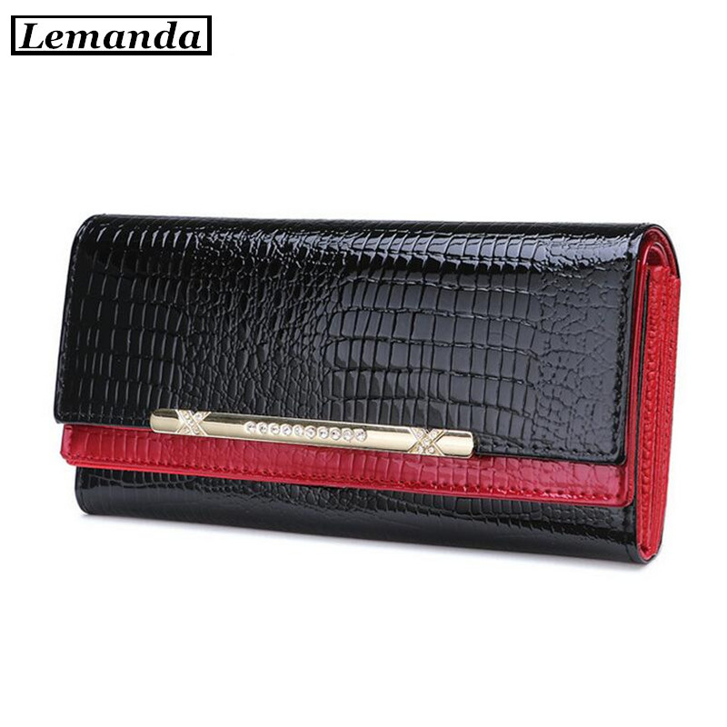Ladies Fashion Leather Wallets