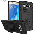 For Samsung Galaxy J5 2016 Case DualLayer Hard Plastic Coque Holder Stand Phone Case For Samsung