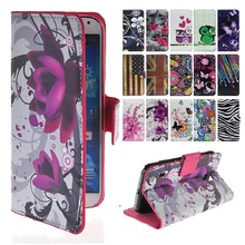 Leather Cover Case Carcasa Coque for Samsung GALAXY Fame Lite S6790 Case Flip Wallet Card Holder Cover For SM GT-S6790 Phone Bag