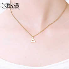 Buy Fashion Anime Game series Legend Zelda Pendant Necklace Triforce Symbol Gold Color Jewelry Men Women for $1.50 in AliExpress store