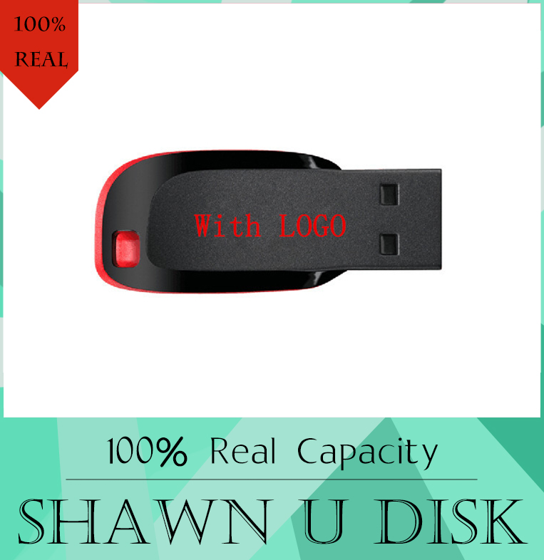 With LOGO USB stick flash drive 8GB 16GB 64GB support official certification 512GB Pen Drive 256GB USB 2.0 Stick Disk 128GB(China (Mainland))