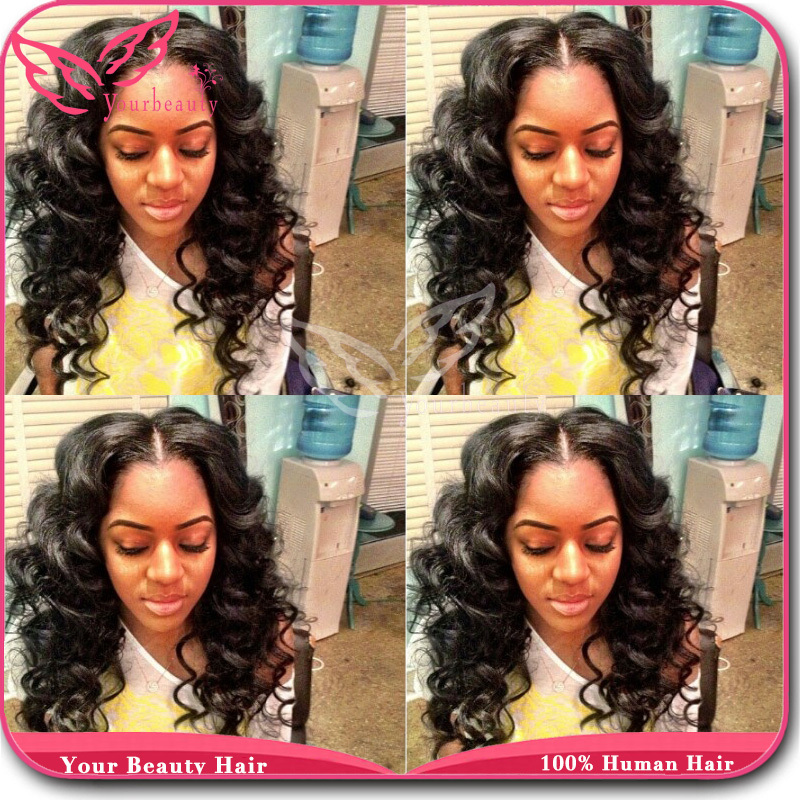 virgin brazilian loose wave full lace wig 130density unprocessed human hair wet and wavy full lace wigs glueless for black women<br><br>Aliexpress
