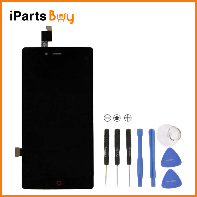 Original iPartsBuy LCD Screen + Touch Screen Digitizer Assembly for ZTE Nubia Z9 mini / NX511J