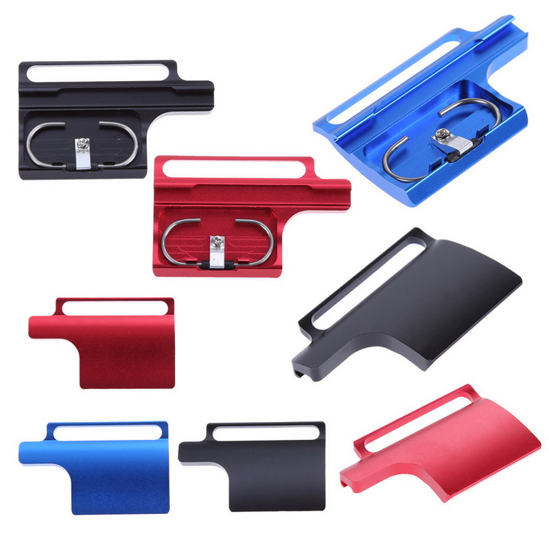 Colorful CNC Aluminum Snap Latch Back Door Clip Lock Buckle for GoPro Hero 3+ 4 Protective Housing