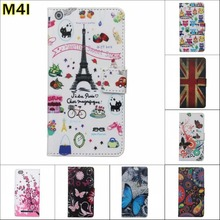 Fashion Chinese flower Owl USA UK Flag wallet card leather stand case cover Xiaomi M4i mi4i m4 screen film - E-Credible Technology Co.,Ltd. store