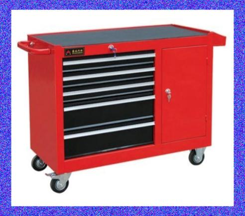 Genuine seven 7 drawer tool cart tool cabinet drawer toolbox trolley car care maintenance