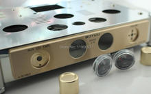 Buy Power Amplifier Chassis Stainless Steel perforated Casing DIY Chassis 370mm*280mm*80mm 1piece DIY 300B Amplifier Chassis for $84.00 in AliExpress store