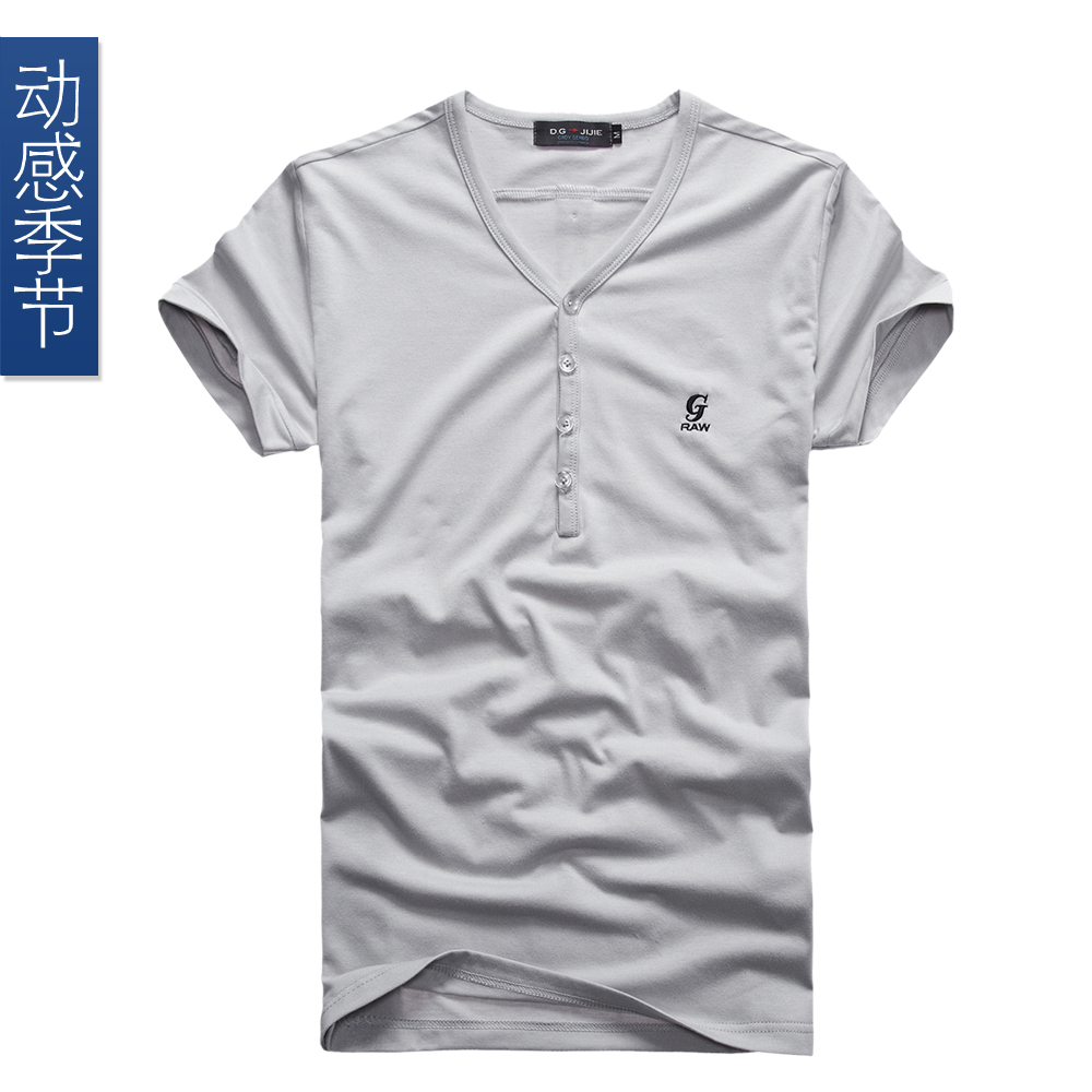2013 new fashion casual mens t shirt summer short sleeve t