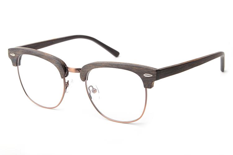 2017 Fashion designer Acetate wood glasses frame eye ...