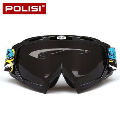 POLISI Motocross Off-Road Downhill Dirt Bike Goggles Anti-Fog Snow Ski Snowboard Eyewear UV400 Winter Motorcycle Riding Glasses<br><br>Aliexpress