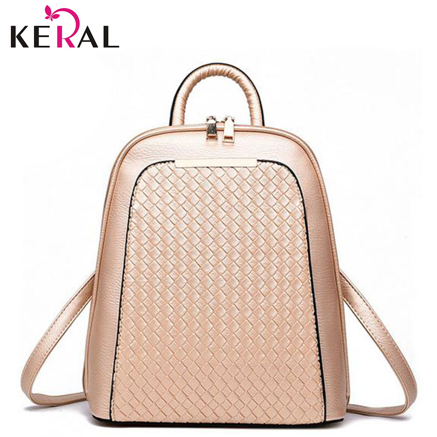 Hot 2016 Women Hi Quality Backpacks Preppy Style PU Leather School College Travel Schoolbag Girl Gift 1pcs(China (Mainland))
