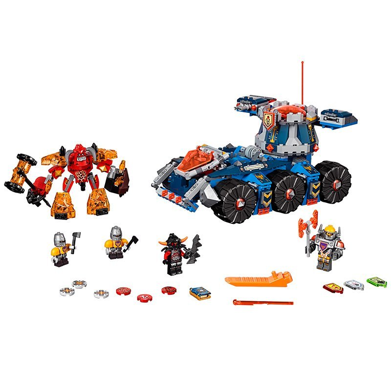 LEPIN Nexo Knights Axl Axls Tower Carrier Combination Marvel Building Blocks Kits Toys Minifigures Compatible Legoe Nexus  -  Beautiful Female's World  store