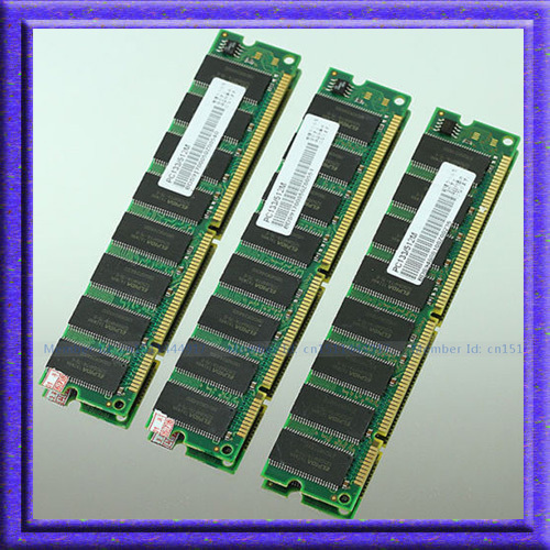 New 3x512MB PC133 133MHz SDRAM 168pin DIMM Desktop Memory 3x512mb pc133 133mhz Non-ECC Low Density RAM New memory Free shipping(China (Mainland))
