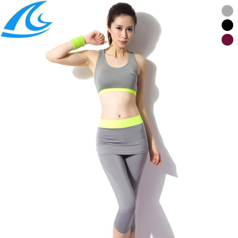 Vest + Leggings Pants Running Gym Workout Clothes Fitness Clothing Women Training Suit Sports Sportswear Yoga Set Plus Size - He & She Trade Co., Ltd. store