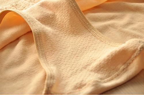 Free Shipping New Women High Waist Brief Girdle Body Shaper Underwear Lady Pure Cutton Slim Tummy