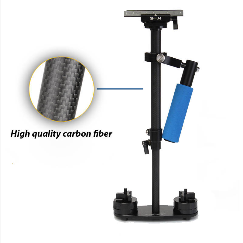 S40 40cm Professional Carbon Fiber Mini DSLR Video Camera DV Camcorder Stabilizer Steadycam Steadicam for Canon Sony Nikon GoPro(China (Mainland))