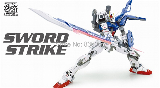 DRAGON MOMOKO Japanese anime figures Master Grade Gundam 1/100 MG Strike GAT-X105 Greatsword action figure plastic model toys - R,Y boutique Toy Store store