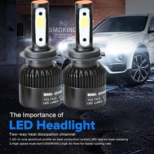 Buy CARPRIE H11 110W 20000LM LED Headlight Conversion Kit Car Beam Bulb Driving Lamp 6000K TJ for $18.58 in AliExpress store