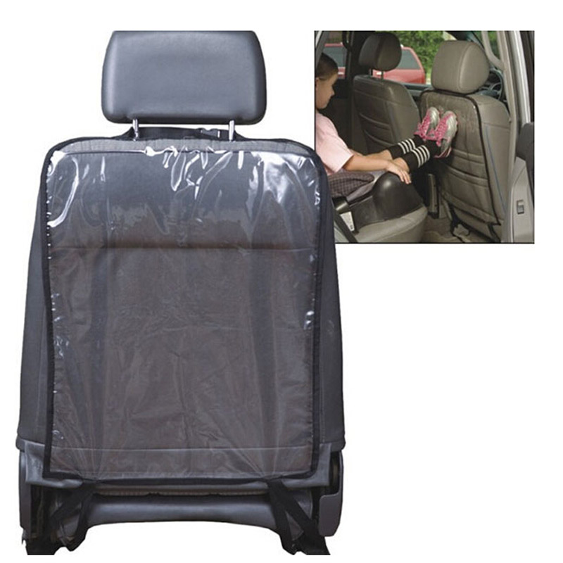 Transparent Car Seat Back Protector dust-proof Children Kick Mat Protects Mud Dirt waterproof Car-cover car seat covers - LUNDA AutoMotor store