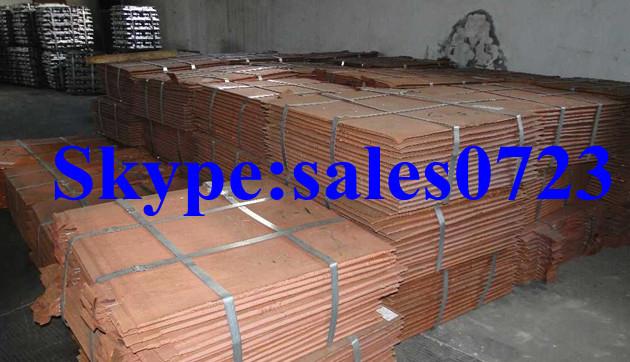 Copper Cathodes 99,99% Grade A LME registered LME-discount(China (Mainland))
