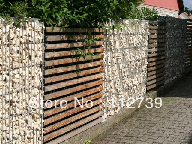 Muro de contenci n de gaviones para el jard n o orchard en for Muro de contencion precio