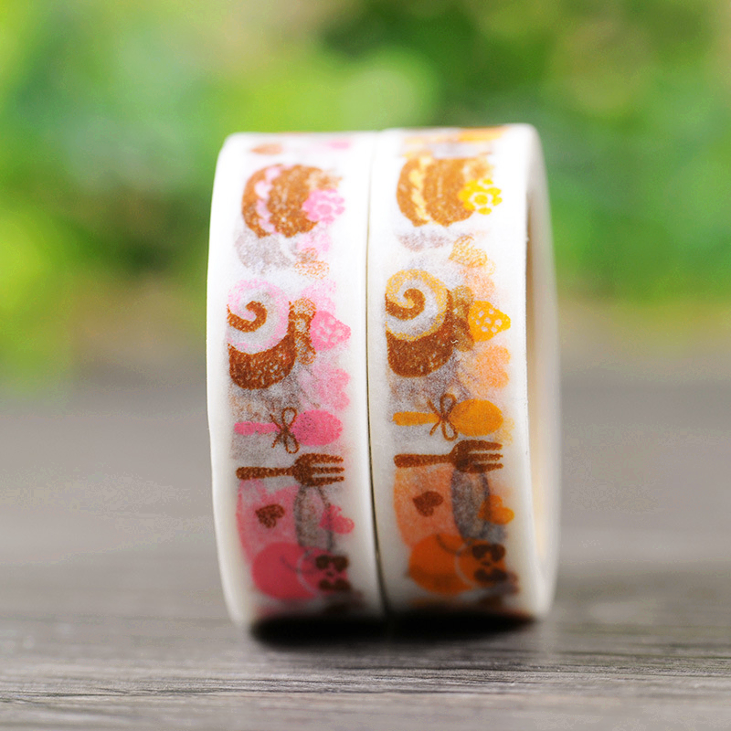 DIY Cute Cartoon Kawaii Japanese Washi Tape Creative Coffee Adhesive Tapes For Home Decoration Free Shipping 166<br><br>Aliexpress
