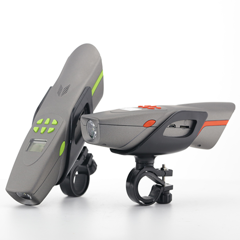Mountain Bike Audio Bluetooth Music Hands-free Call Outdoor Speaker With Bike Light FM Radio MP3 Honking(China (Mainland))