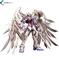 Brand 1 100 MG Gundam 20cm Wing Zero Wing Fighter MG028 Anime Assembled Soldiers Robot With