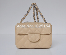 Hight Quality! Famous brand sheepskin / Cowhide shoulder bag genuine leather MINI Diamond lattice flap bag designer handbags