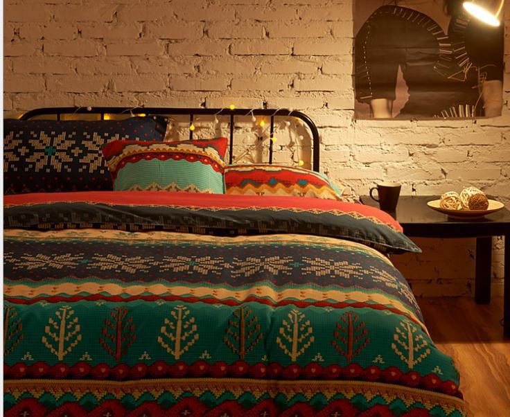 Luxury comforter cover bedding sets boho bedding set designer colorful bohemian duvet covers - Look contemporary luxury bedding ...