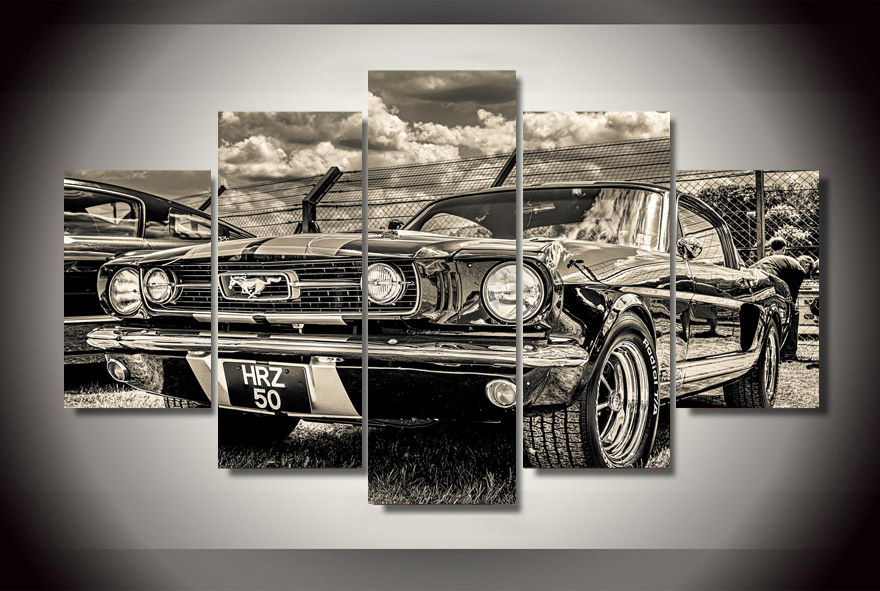online buy wholesale mustang 1965 from china mustang 1965 ford mustang fastback 5d20342 acrylic print by home decor