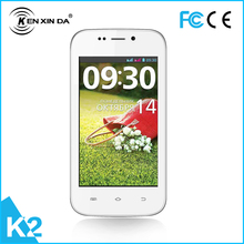 2015  best low price kenxinda 4.0 inch smartphone with dual core , 3 G network ( free case cover )