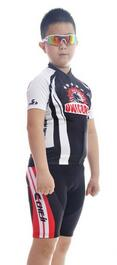 2015 Boys Stylish Summer Black Unicorn Cycling Jersey Sets Bicycle Jersey Clothes and Short Pants Cycling Clothing For Kids<br><br>Aliexpress