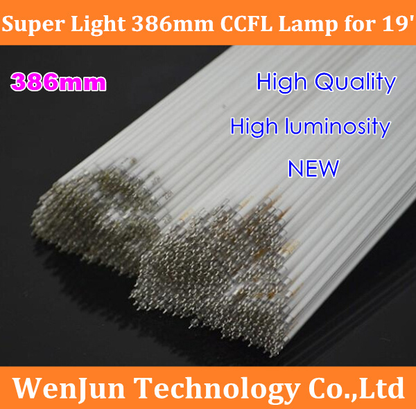 NEW CCFL 386mm*2.4mm LCD backlight ccfl lamp for 19 inch lcd monitor /laptop screen High Quality(China (Mainland))