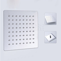 Free Shipping 8 inch Ultra thin Stainless Steel Showerheads Polished Chrome Rainfall Square Shower Head