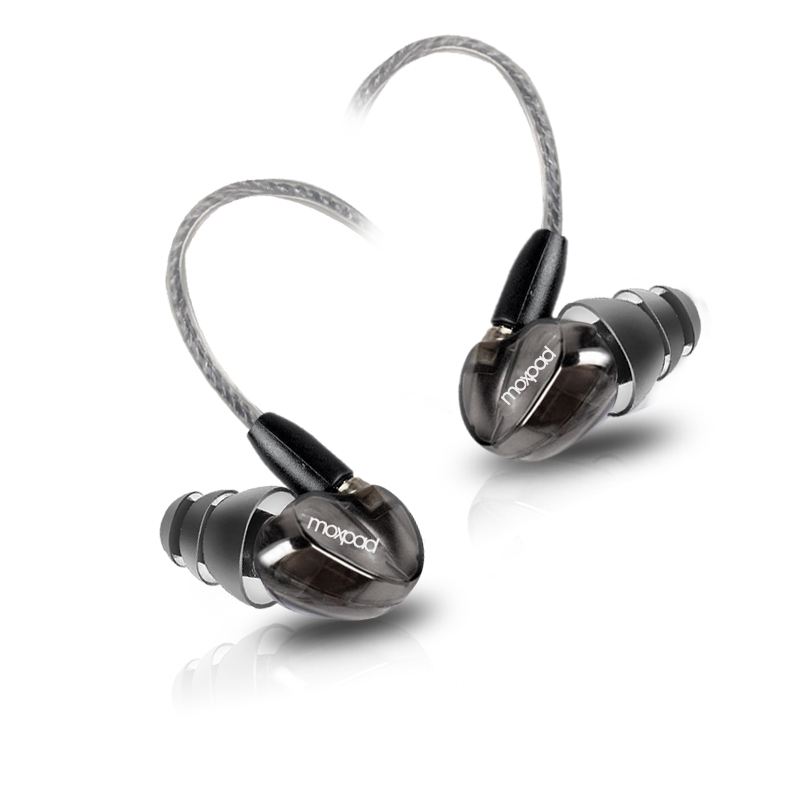 Moxpad X6 In Ear Sport Earphones Mobile Phone Headphones Wire Monitor Can Change The Line Ie8 Computer Headset Running Mp3(China (Mainland))