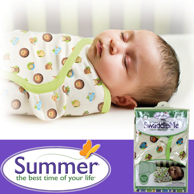 Swaddleme новорожденный органический хлопок ребенка пеленать лето детские тонкие ...