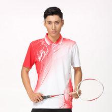 Nueva ropa deportiva bádminton wear camisas mujeres/hombres, camiseta de tenis deportivo, camisa de tenis de mesa, camisa deportiva de secado rápido 8810(China)