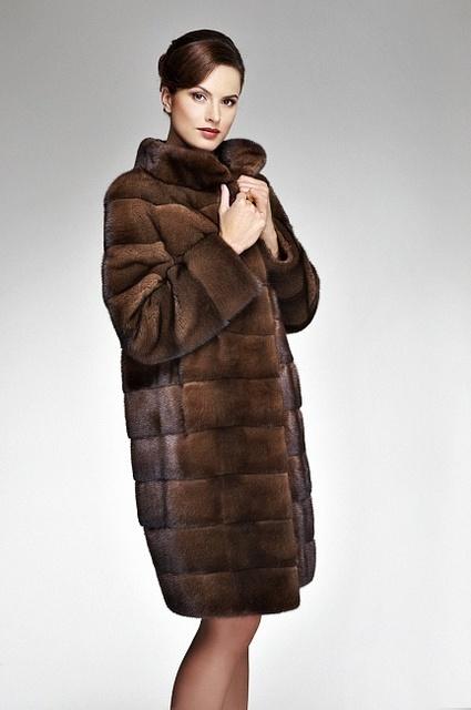 Ladies Black Fur Jacket