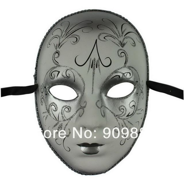 Beautiful Pulp European Style Painting Mask Venice Couples Lovers Wedding Masks Halloween House Party Masquerade Cosplay 50pcs