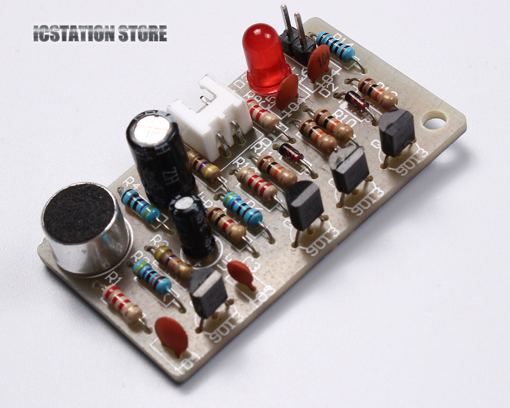 Compare Prices On Clap Activated Switch Online Shopping Buy Low Circuit Diagram Of Diy Off Kit Acoustic Sensor Electronics Soldering Practice Set Sound Clapper