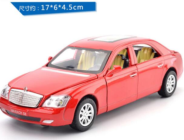 free shipping 2016 New style Maybach WELLY 1:32 Original Simulation alloy car model Toys for boys Collectibles(China (Mainland))