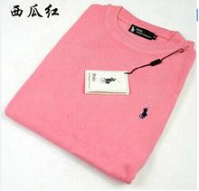 2015 high quality fashion leisure men  round collar   sweater knit M - XXXL free shipping(China (Mainland))