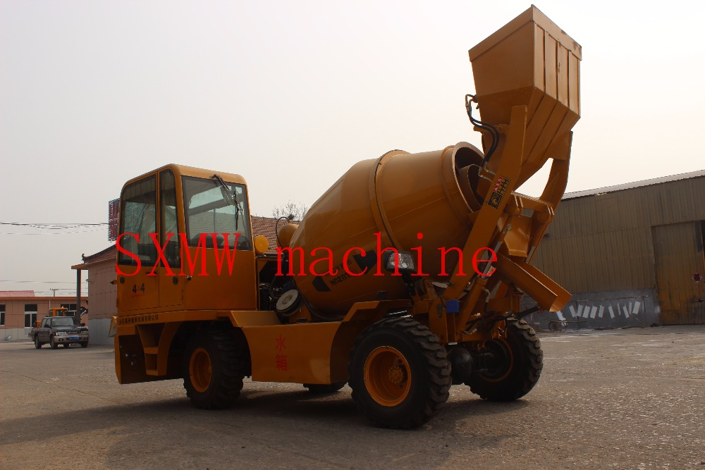 hot sale SXMW1200 Diesel Engine Drum Mobile Concrete Mixer(China (Mainland))