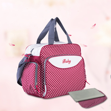 Baby Care Stroller Bag Diaper Nappy bag dot maternity Mummy women messenger travel bag Expectant pregnant shoulder ladies tote