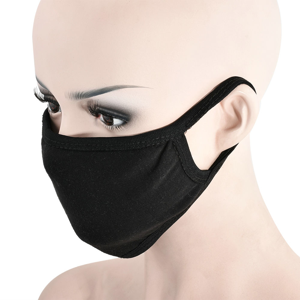 surgical mask black